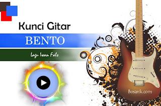 Chord Kunci Gitar Lagu Iwan Fals - Bento