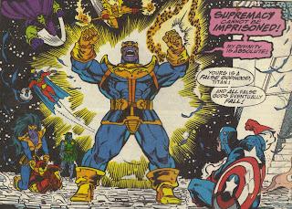 The Infinity Gauntlet - Thanos