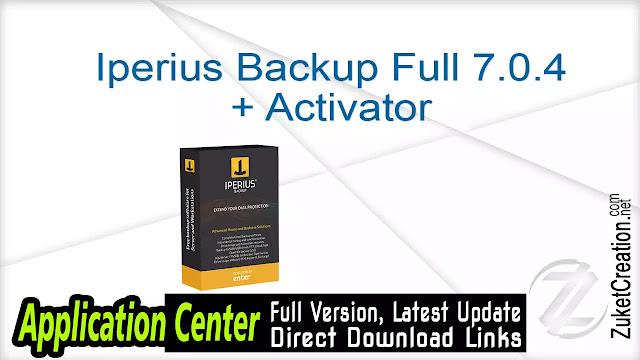 Iperius Backup Full 7.0.4 + Activator