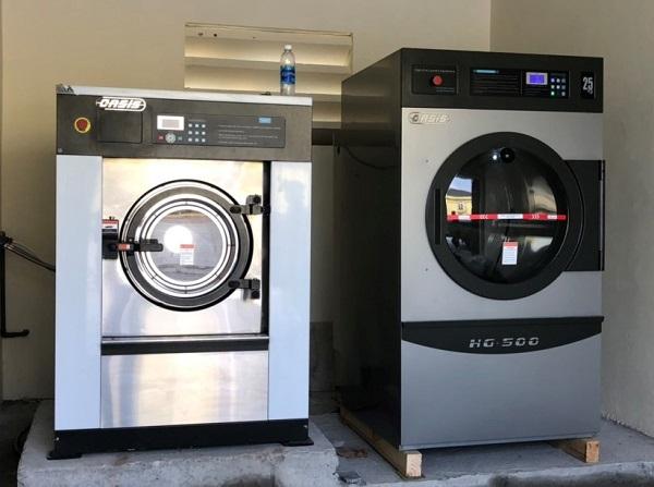 máy giặt sấy công nghiệp cho tiệm giặt ở Sài Gòn