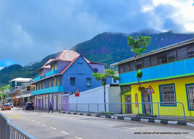 Albert Street in Victoria Seychelles