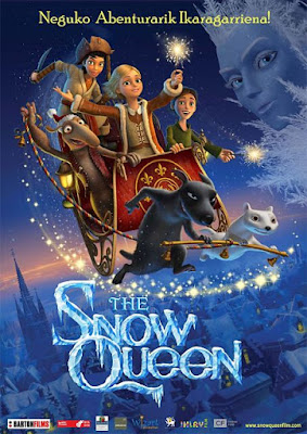 Cartel oficial español: The Snow Queen (2012)