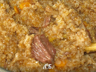 пшеничная каша с мясом рецепт
