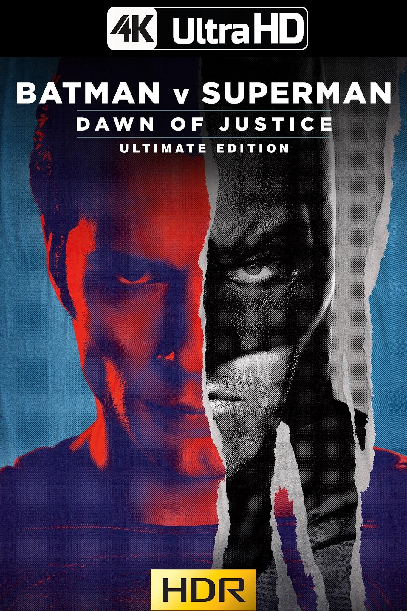 Batman v Superman: Dawn of Justice – [Ultimate Edition] (2016) HMAX 4K-HDR WEB-DL 2160p Latino