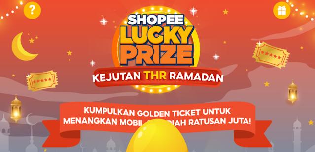 Cara Menggunakan Golden Ticket Shopee