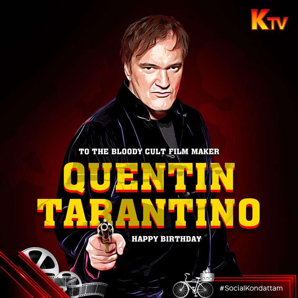 Quentin Tarantino's Birthday Wishes Unique Image