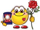Smiley propose
