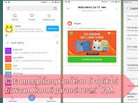 Aplikasi bawaan Xiaomi garansi resmi banyak iklan, ini solusinya