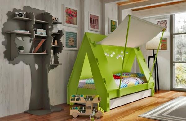 Cuartos temáticos divertidos para niños   dormitorios colores y ...