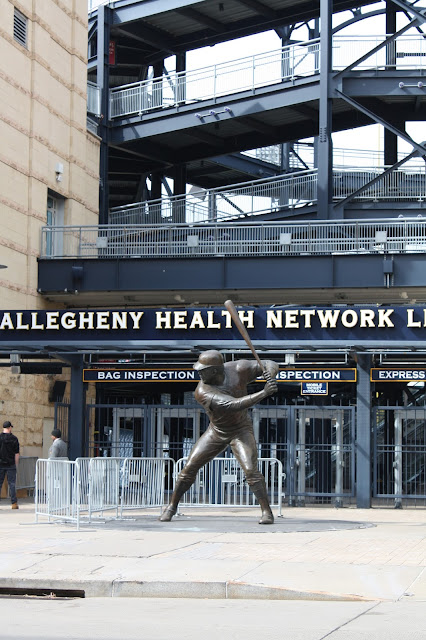 Willie Stargell Sculpture at PNC Park in Pittsburgh