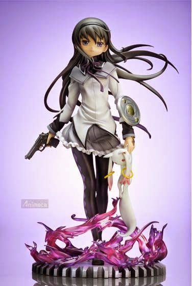 FIGURA HOMURA AKEMI Time Travel Ver. Edición Limitada Puella Magi Madoka Magica the Movie