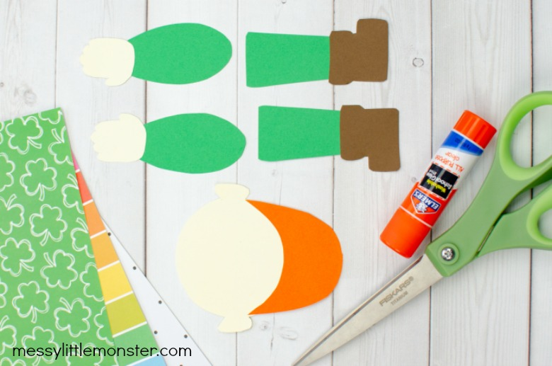 printable leprechaun craft template