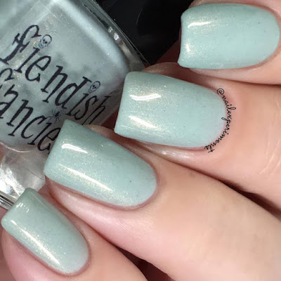 Fiendish Fancies Martha swatch from the Survive collection