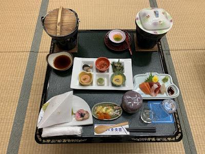 東秀館の夕食