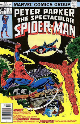 Spectacular Spider-Man #6, Morbius and the Human Torch