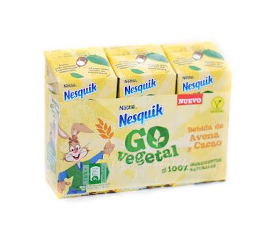 Nesquik Go vegetal