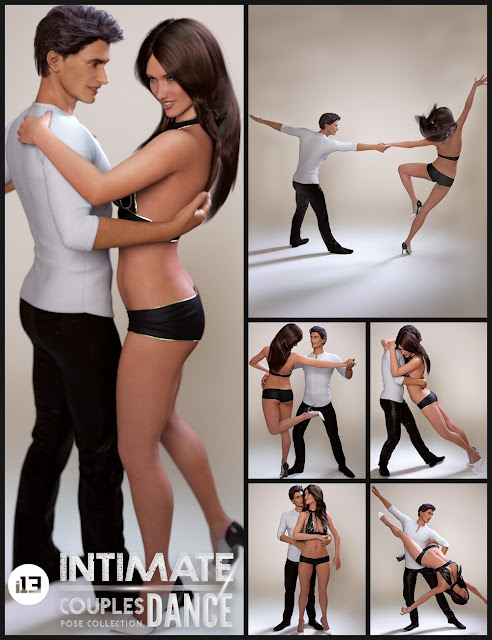 i13 Intimate Dance for the Genesis 3 Female and Genesis 3 Male