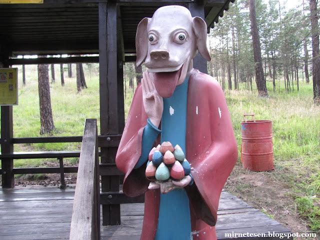 Дацан Ринпоче Багша в Улан-Удэ - тропа символов года