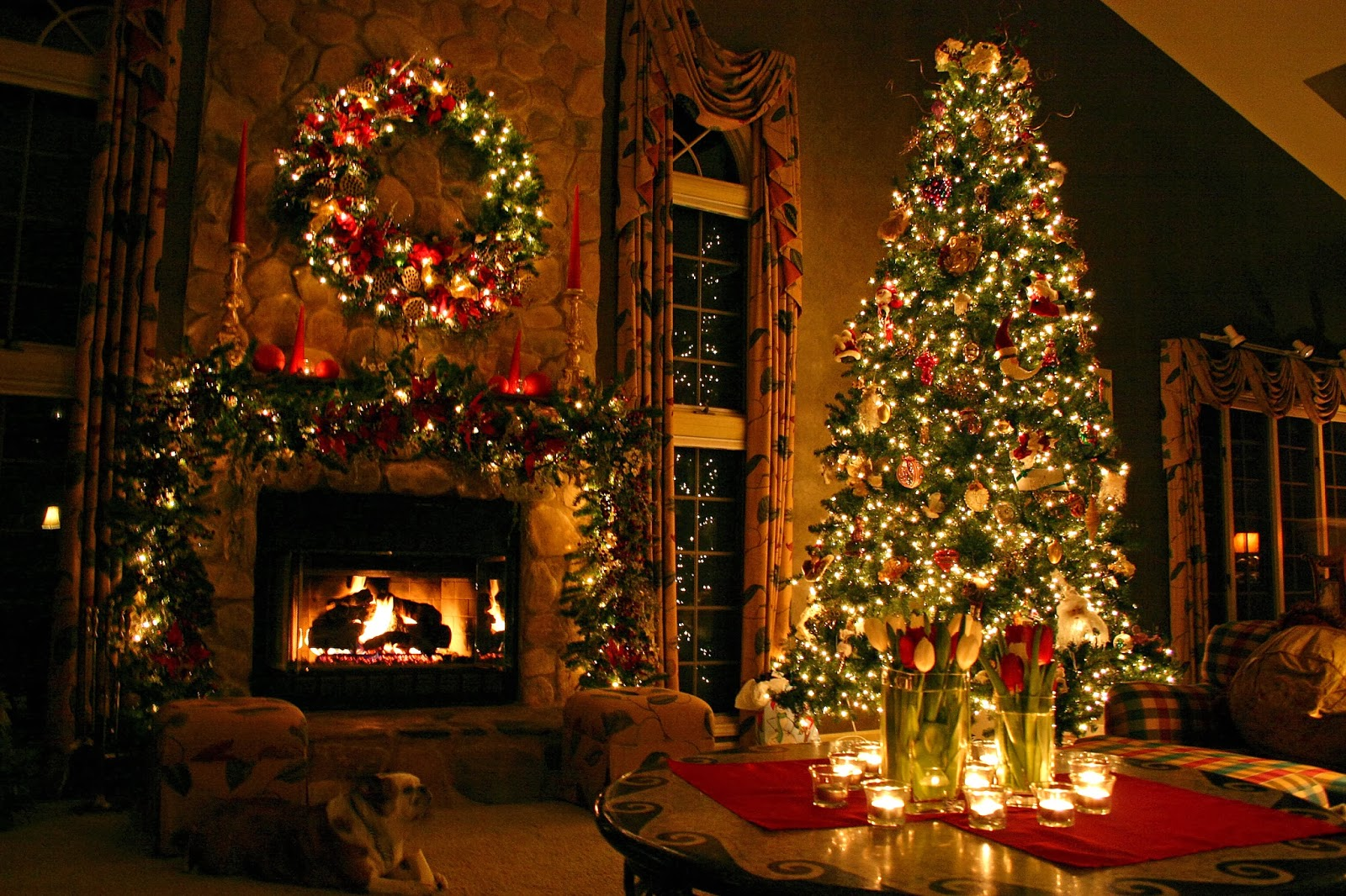 Christmas Tree HD Wallpaper