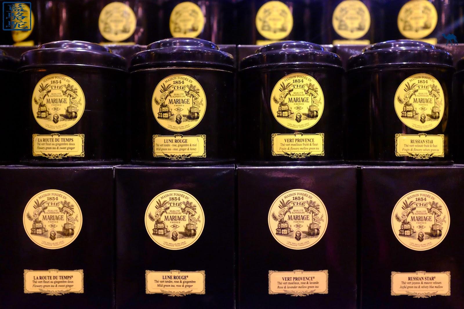 Le Chameau Bleu - Thé Mariages Frères Paris - Dégustation de thé