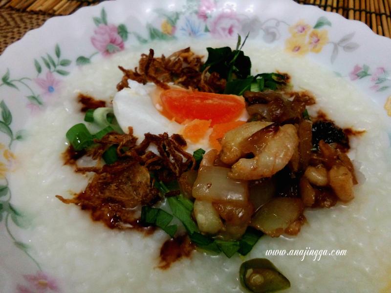 Sesekali Ubah Selera Makan Bubur Nasi