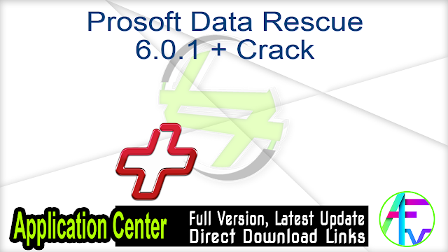 Prosoft Data Rescue 6.0.1 + Crack