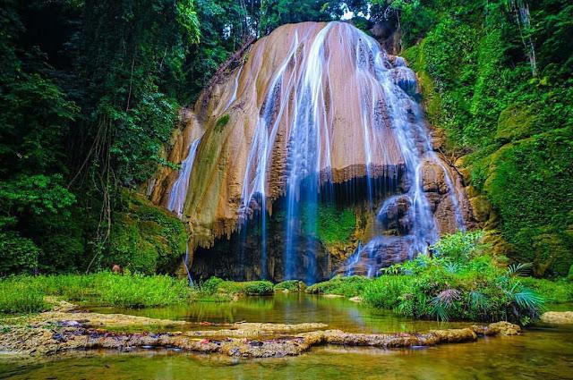 tumburano waterfall Southeast Sulawesi Indonesia
