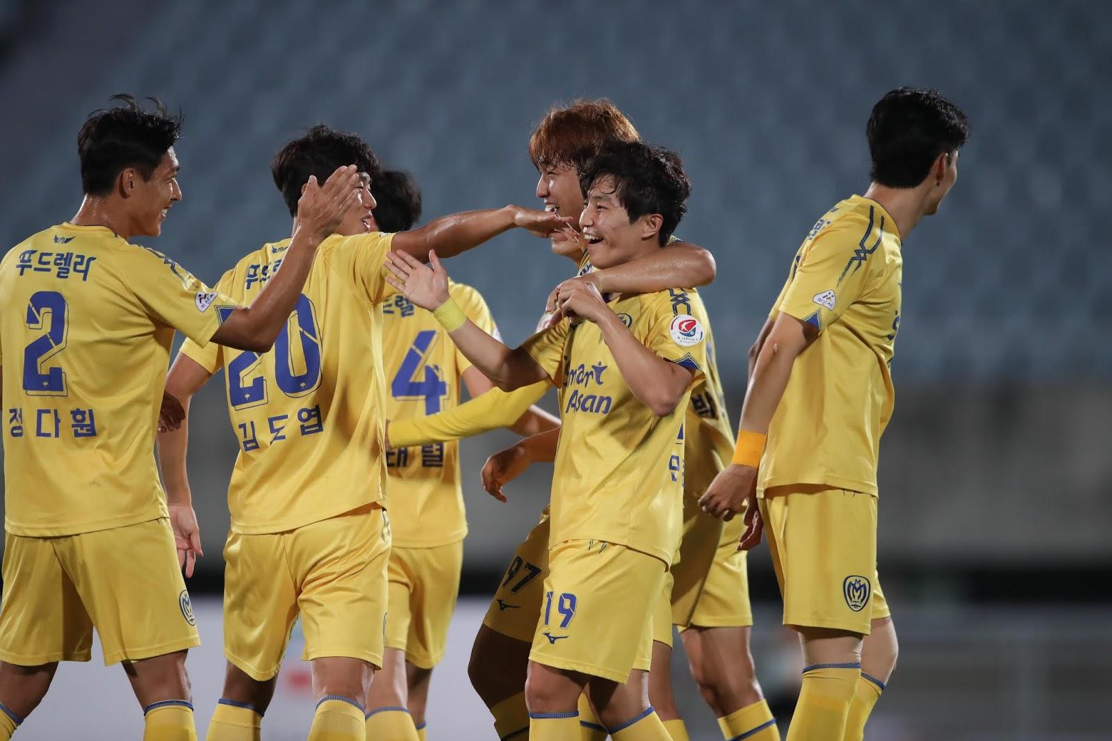 Min Jun-yeong debut goal 10.01.19 Asan vs Seoul E-Land.