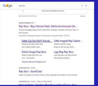 Google Mulai Menjamah Rapi Serui