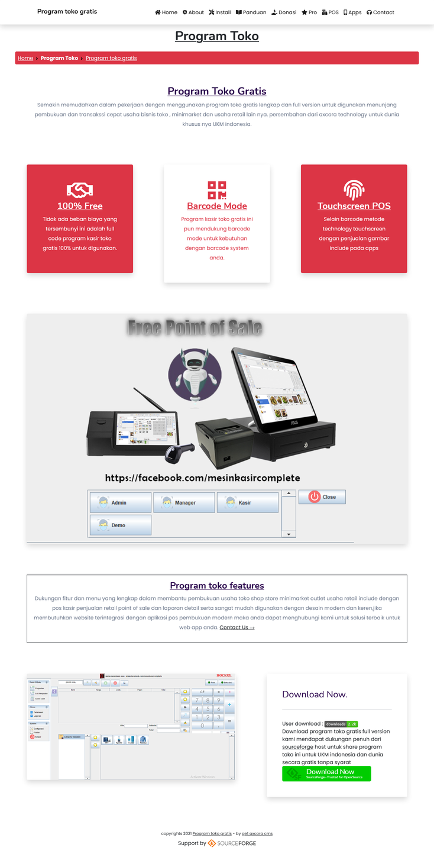 pembuatan website landing page murah