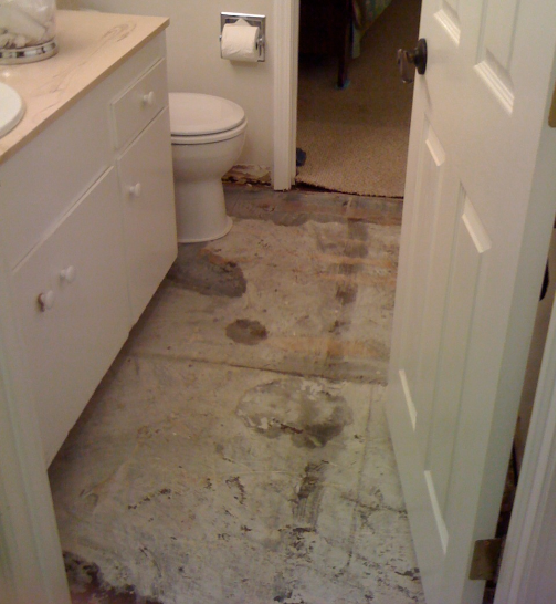 How to Clean up Bathroom Flooring Linoleum