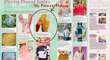 I was featured on Simple Knitting UK Magazine