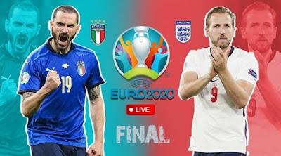 مشاهدة مباراة ايطاليا ضد انجلترا 11-07-2021 بث مباشر في نهائي بطولة امم اوروبا