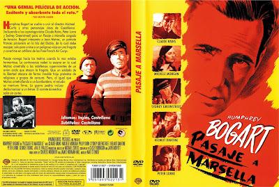 Carátula dvd: Pasaje a Marsella (1944) Passage To Marseille - Cine Clásico Descarga y Online