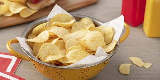 Batata-Chips-Receitas बटाटा चिप्स