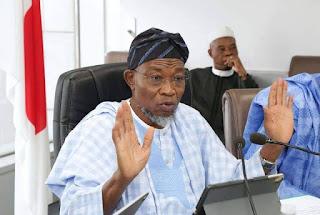 Ọ̀gbẹ́ni Rauf Arẹ́gbẹ́ṣọlá Minister of Interior  Federal Republic of Nigeria