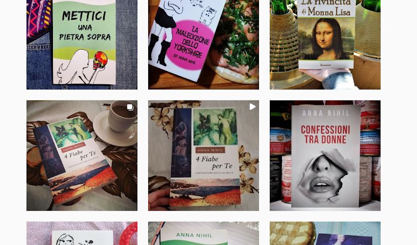 I miei libri su Instagram