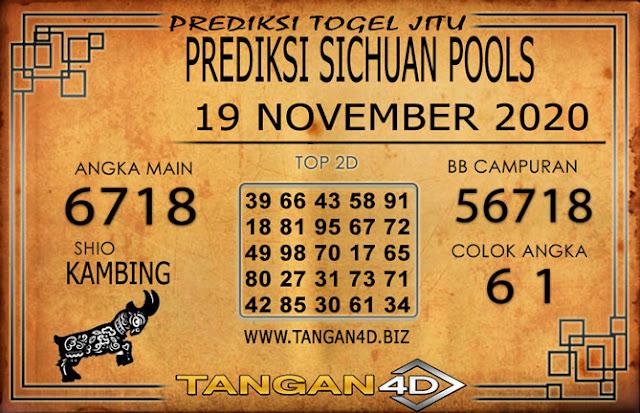 PREDIKSI TOGEL SICHUAN TANGAN4D 19 NOVEMBER 2020