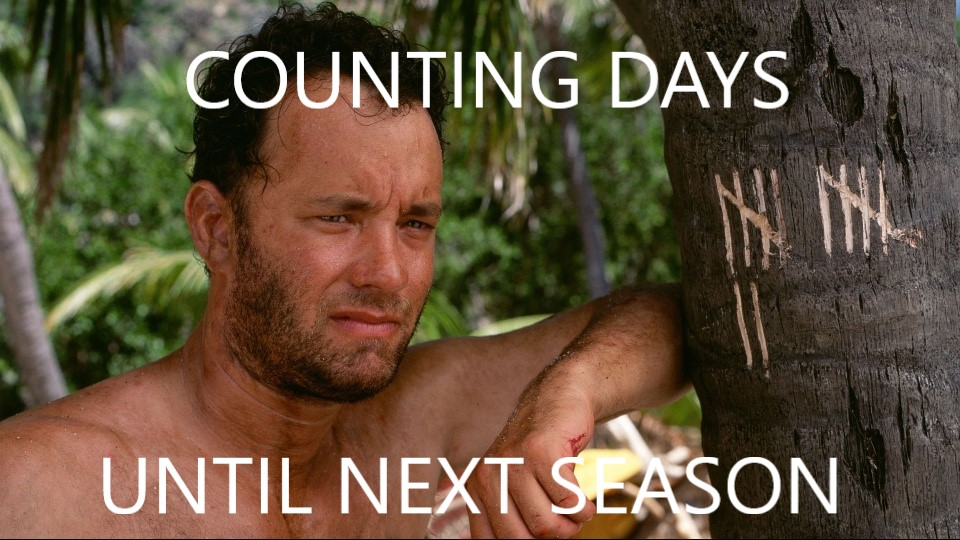 counting days until next season cast away