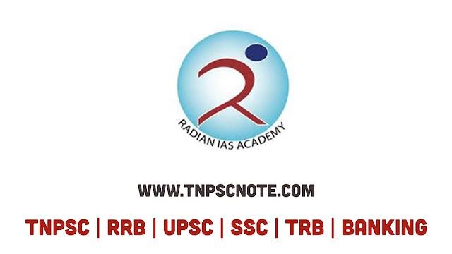 TNPSC போட்டித்தேர்வுகளுக்கு Radian IAS Academy வெளியிட்டுள்ள கணித பாடத்திற்கான புத்தகம் Book 2 Tamil Odd Pages Only