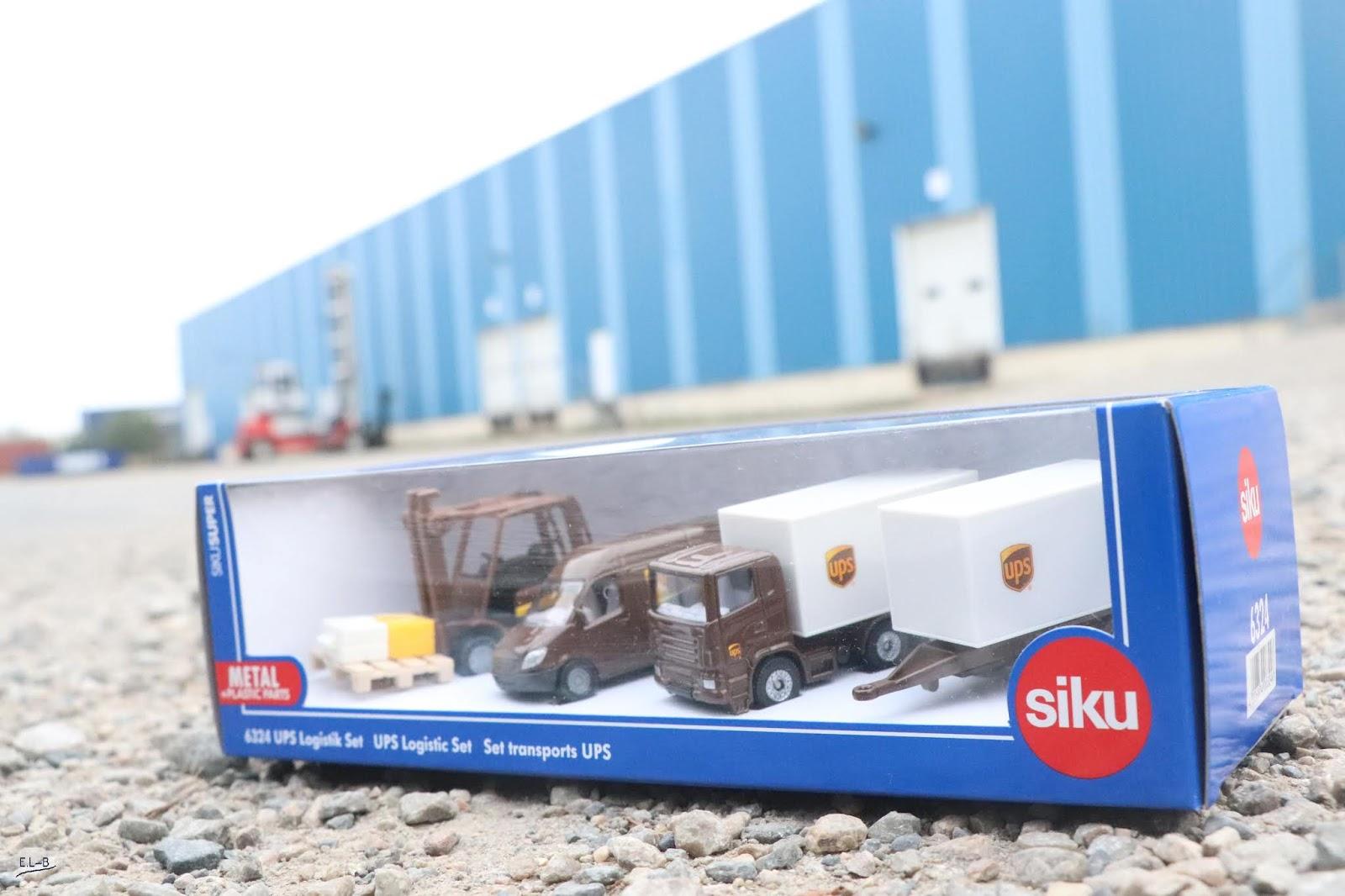 Set Coffret Logistik Marron 6324 Ups Voitures Siku VSLqpGUMz