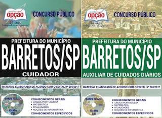concurso público para Prefeitura do Município de Barretos - SP