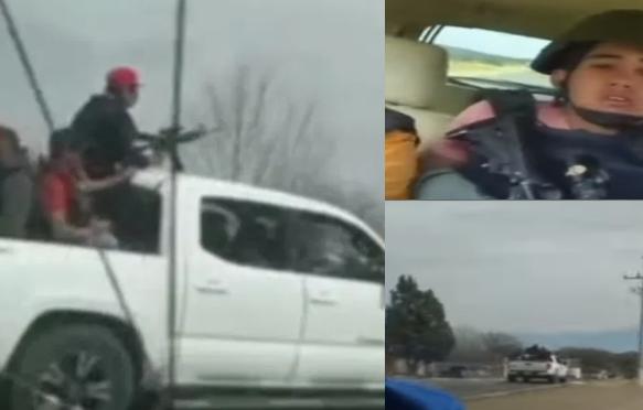 Video: Sicarios de La Gente Nueva se graban muy contentos escuchando corridos antes de perder la batalla en el enfrentamiento y ser decapitados por La Línea