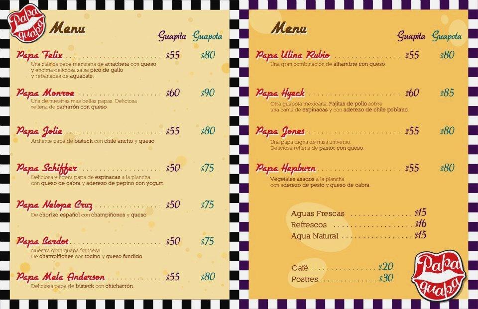 La Bonita Restaurant Menu