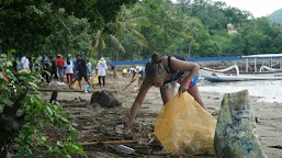 Sea Clean Up di Gili Gede, Ramaikan Semangat #KeSekotongAja !!