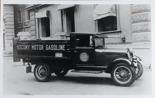 Socony Motor Gasoline Truck, Shanghai, China, 1931. Source: Madspace.org