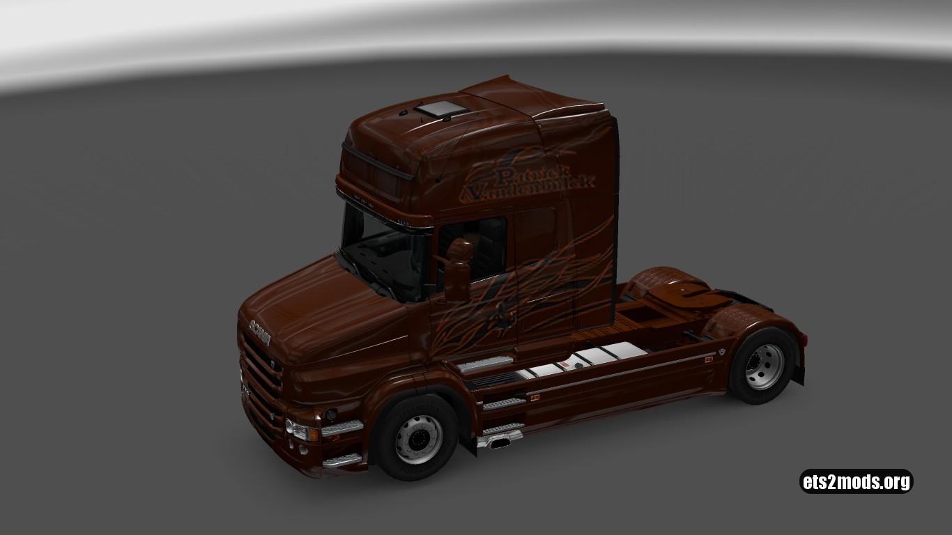 Black Amber (Patrick Vandenbulcke) Skin for Scania T