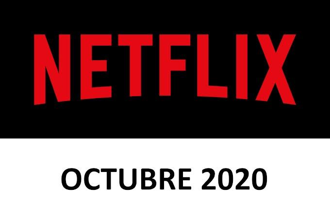 Novedades y Estrenos de Netflix España Octubre 2020