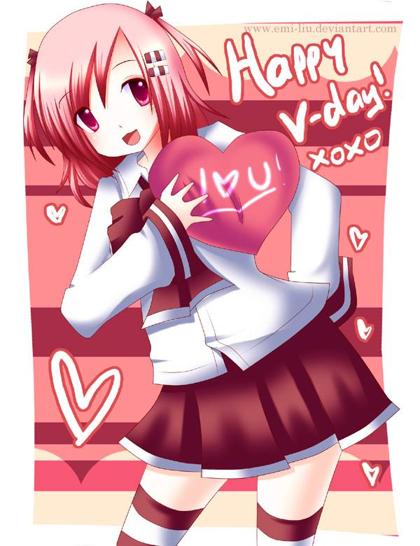 Zsdesignx valentine day wallpaper inspiration - Happy valentines day anime ...