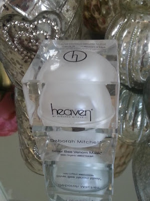 Heaven Skincare silver bee venom mask review by www.thelavenderbarn.blogspot.co.uk